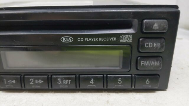 2003 2004 2005 Kia Rio Am Fm Cd Player Radio Receiver  40656 Stock #40656 - Oemusedautoparts1.com