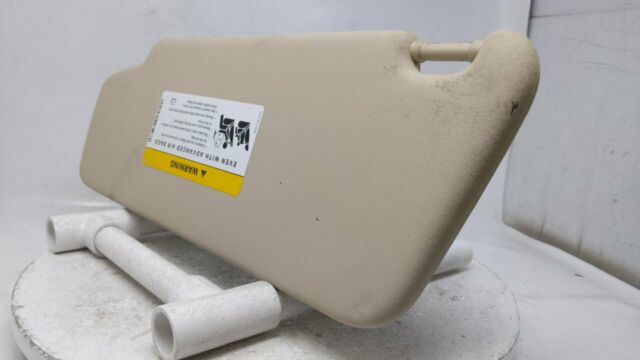 2010 2011 2012 2013 2014 Mercedes C230 Passenger Right Sun Visor Sunvisor Beige 40135 Stock #40135