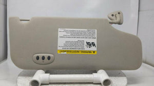 2005 Ford Taurus Driver Left Sun Visor Sunvisor Light Grey R9s09b15