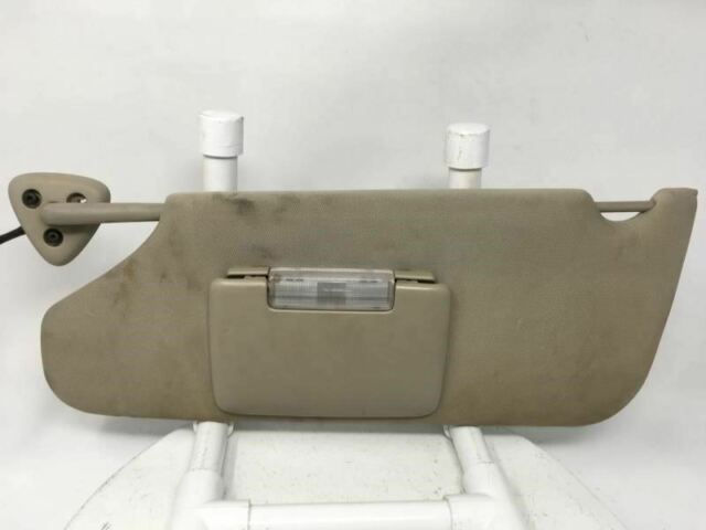 2008 2009 2010 Dodge Charger Driver Left Sun Visor Shade Mirror W164g - Oemusedautoparts1.com
