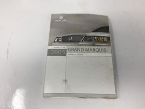2005 Mercury Grand Marquis Operator Owners Manual User Guide W373g - Oemusedautoparts1.com