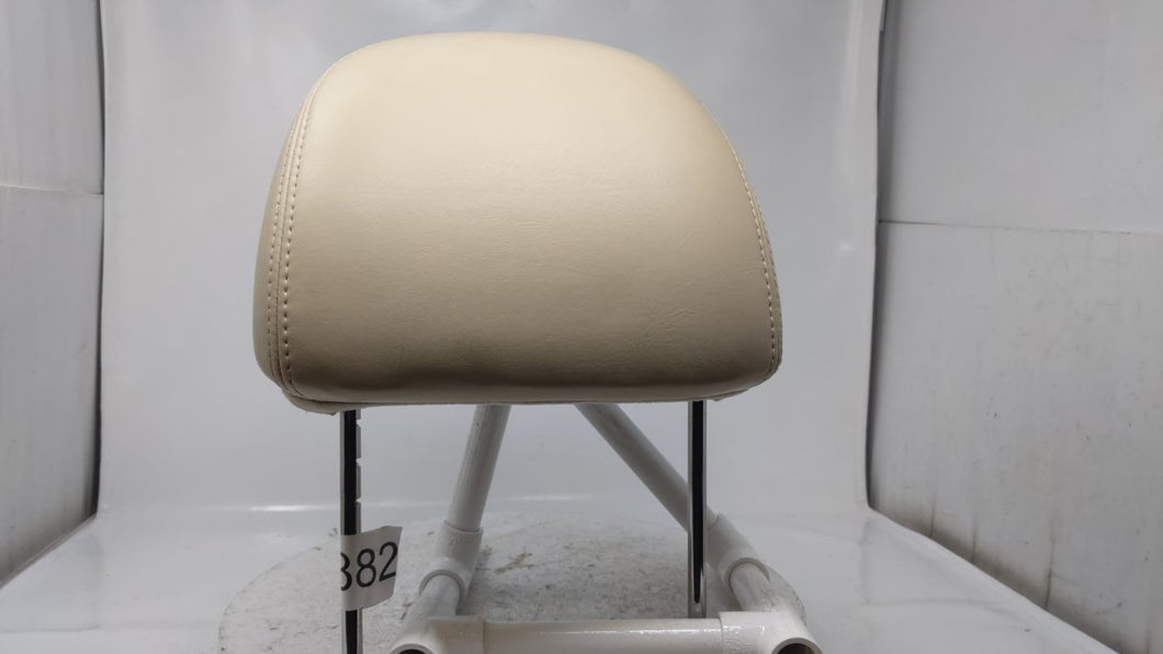 00 01 02 Lincoln Ls Headrest Driver Passenger Front Leather Tan 12x344