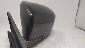 2007-2009 Mazda Cx-7 Driver Left Side View Power Door Mirror Black 29574
