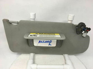 2005 Honda Accord Passenger Right Sun Visor Shade Mirror W165n - Oemusedautoparts1.com