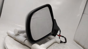 2014 Nissan Versa Driver Left Side View Power Door Mirror Silver R1s05b22
