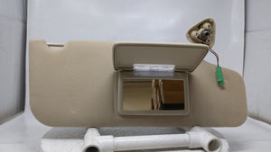 2005-2007 Ford Five Hundred Passenger Sunvisor Sun Visor Shade Oem Beige 37184 - Oemusedautoparts1.com