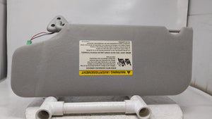 2005-2007 Ford Five Hundred Passenger Right Sun Visor Sunvisor Gray 37578 - Oemusedautoparts1.com