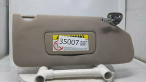 1998 Honda Accord Passenger Right Sun Visor Sunvisor Tan R9s09b18