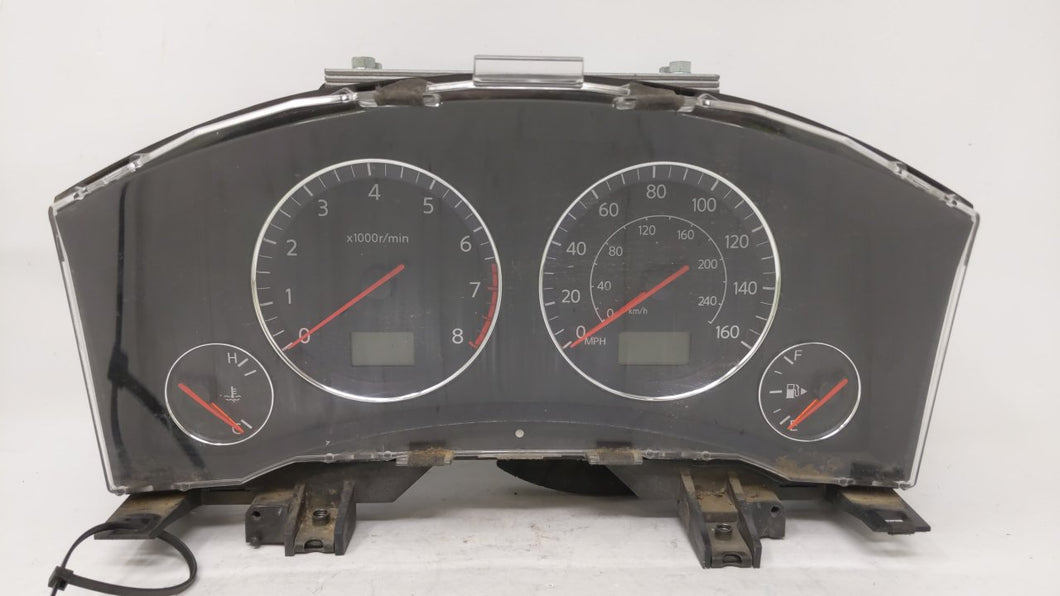 2003-2003 Infiniti Fx35 Speedometer Instrument Cluster Gauges 25401zn60a 49112 - Oemusedautoparts1.com