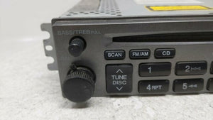 2002 Hyundai Accent Am Fm Cd Player Radio Receiver  R9s10b07 Stock #36856