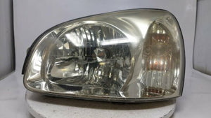 2003 Hyundai Santa Fe Driver Left Oem Head Light Lamp  R8s40b13