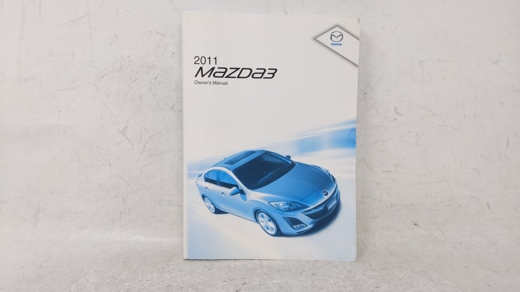 2011 Mazda 3 Owners Manual 52657 - Oemusedautoparts1.com