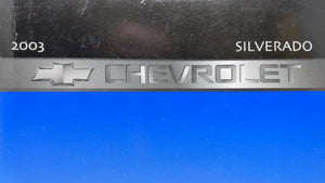2003 Chevrolet Silverado Owners Manual 52731 - Oemusedautoparts1.com