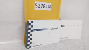 2004 Chevrolet Silverado Owners Manual 52781 - Oemusedautoparts1.com
