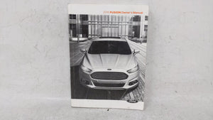 2016 Ford Fusion Owners Manual 52787 - Oemusedautoparts1.com