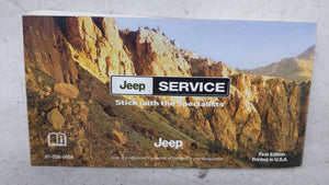 2006 Jeep Grand Cherokee Owners Manual 52835 - Oemusedautoparts1.com