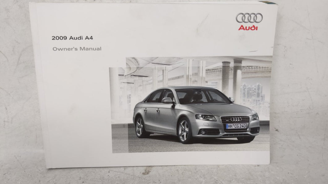 2009 Audi A4 Owners Manual 52903 - Oemusedautoparts1.com
