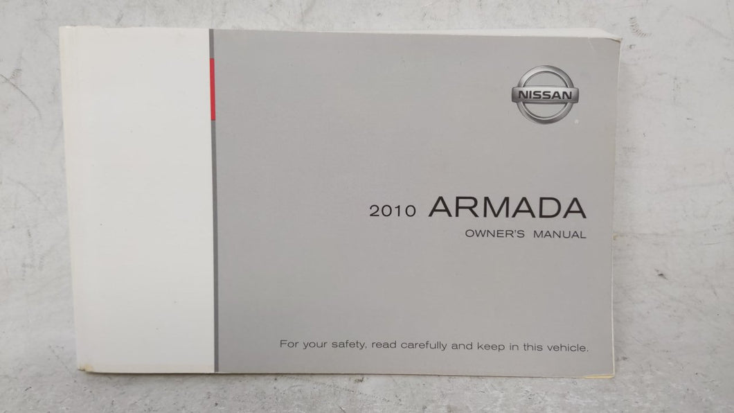 2010 Nissan Armada Owners Manual 52916 - Oemusedautoparts1.com