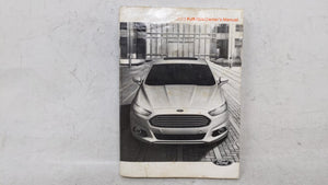 2013 Ford Fusion Owners Manual 52989 - Oemusedautoparts1.com