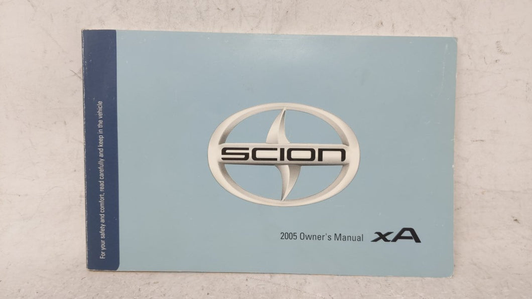 2005 Scion Xa Owners Manual 53065 - Oemusedautoparts1.com