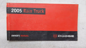 2005 Dodge Ram 1500 Owners Manual 53081 - Oemusedautoparts1.com