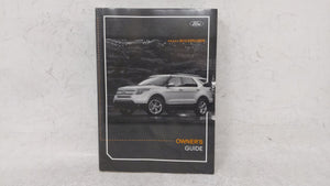 2012 Ford Explorer Owners Manual 53099 - Oemusedautoparts1.com