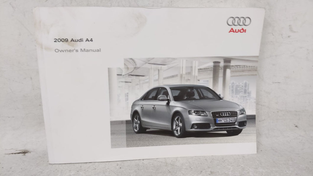 2009 Audi A4 Owners Manual 53326 - Oemusedautoparts1.com