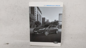 2014 Ford Focus Owners Manual 53392 - Oemusedautoparts1.com