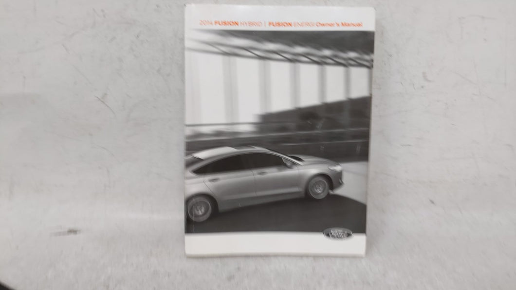 2014 Ford Fusion Owners Manual 53418 - Oemusedautoparts1.com