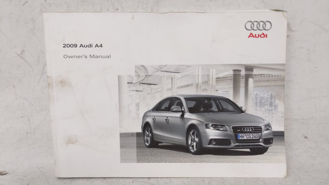 2009 Audi A4 Owners Manual 53445 - Oemusedautoparts1.com