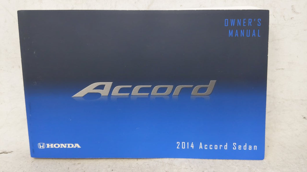 2014 Honda Accord Owners Manual 53670 - Oemusedautoparts1.com
