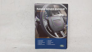 2013 Land Rover Range Rover Evoque Owners Manual 53672 - Oemusedautoparts1.com