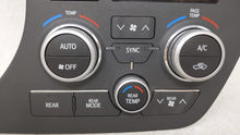2015-2017 Toyota Sienna Ac Heater Climate Control 55900-08200 53915 - Oemusedautoparts1.com