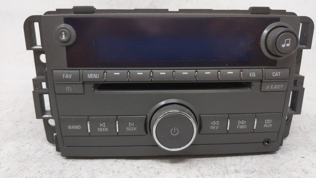 2008-2008 Buick Lucerne Am Fm Cd Player Radio Receiver 54261 - Oemusedautoparts1.com