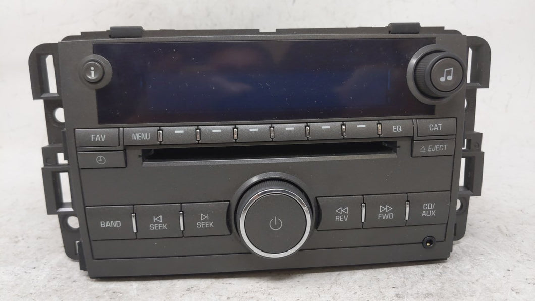 2007-2007 Buick Lucerne Am Fm Cd Player Radio Receiver 54291 - Oemusedautoparts1.com