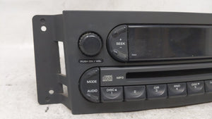 2004-2008 Chrysler Pacifica Am Fm Cd Player Radio Receiver 54355 - Oemusedautoparts1.com