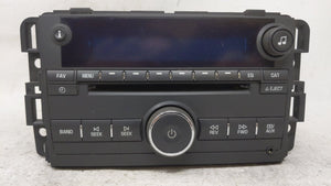 2009-2010 Chevrolet Impala Am Fm Cd Player Radio Receiver 54401 - Oemusedautoparts1.com
