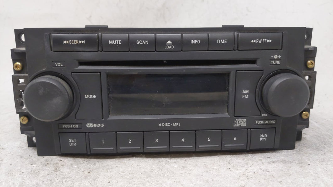 2006-2010 Chrysler Pt Cruiser Am Fm Cd Player Radio Receiver 54509 - Oemusedautoparts1.com