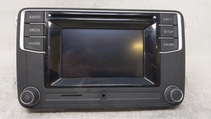 2017-2017 Volkswagen Jetta Am Fm Cd Player Radio Receiver 54537 - Oemusedautoparts1.com