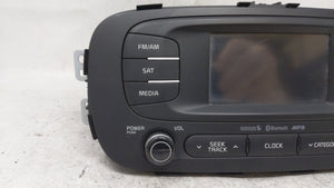 2014-2016 Kia Soul Am Fm Cd Player Radio Receiver 54614 - Oemusedautoparts1.com