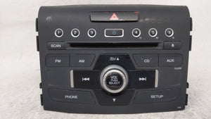 2015-2016 Honda Cr-v Am Fm Cd Player Radio Receiver 54624 - Oemusedautoparts1.com