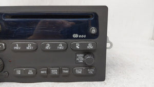 2002-2003 Chevrolet Trailblazer Am Fm Cd Player Radio Receiver 54626 - Oemusedautoparts1.com