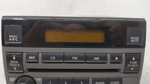 2005-2006 Nissan Altima Am Fm Cd Player Radio Receiver 54632 - Oemusedautoparts1.com