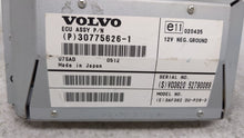 Volvo S60 Information Display Screen 54691 - Oemusedautoparts1.com