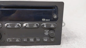 2002-2003 Chevrolet Trailblazer Am Fm Cd Player Radio Receiver 54727 - Oemusedautoparts1.com