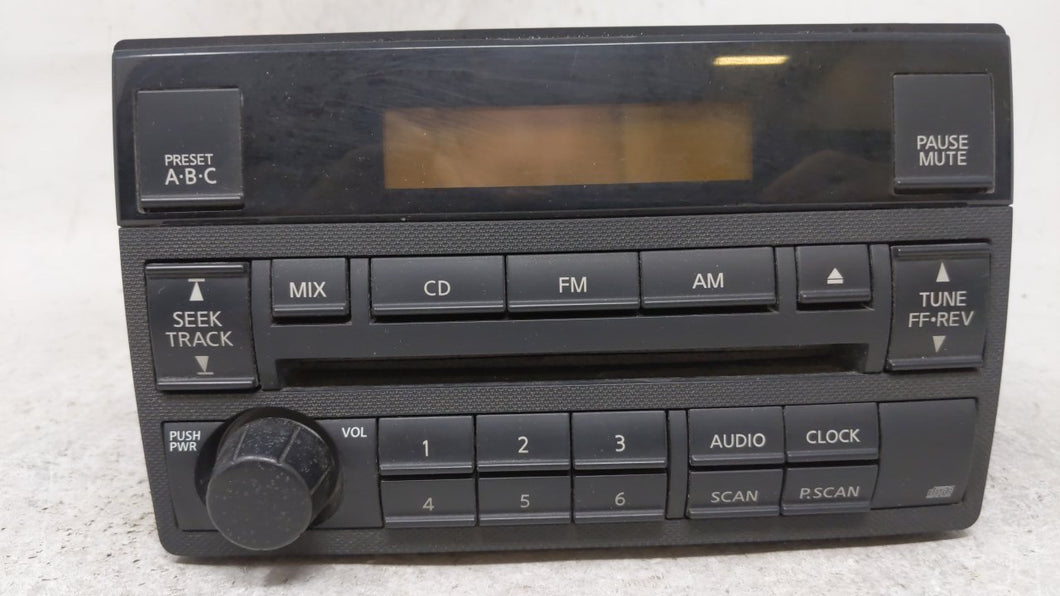 2005-2006 Nissan Altima Am Fm Cd Player Radio Receiver 54743 - Oemusedautoparts1.com