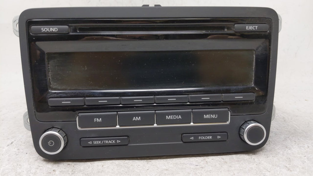 2013-2015 Volkswagen Passat Am Fm Cd Player Radio Receiver 54819 - Oemusedautoparts1.com