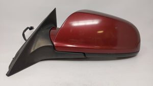 2007-2009 Saturn Aura Driver Left Side View Power Door Mirror Red 57901 - Oemusedautoparts1.com