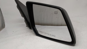 2007-2008 Gmc Acadia Passenger Right Side View Power Door Mirror Black 58115 - Oemusedautoparts1.com