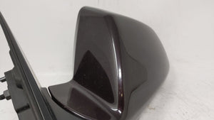 2008-2014 Cadillac Cts Driver Left Side View Power Door Mirror Brown 58240 - Oemusedautoparts1.com